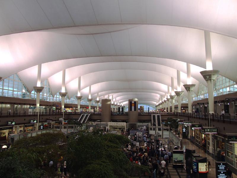 Aeroporto Denver : Aeroporto di denver